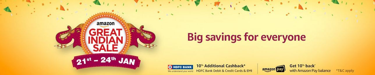 amazon india offers on hdfc debit card